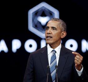 Μπάρακ Ομπάμα: Στο Παρίσι για λίγες μόνο ώρες - Η αμοιβή για την ομιλία του έφτασε τις 400.000 δολάρια  - Κυρίως Φωτογραφία - Gallery - Video