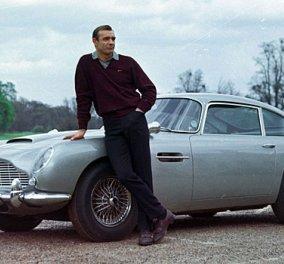 Σε δημοπρασία η Aston Martin έγινε διάσημη από τη θρυλική ταινία Τζέιμς Μποντ «Goldfinger»  - Κυρίως Φωτογραφία - Gallery - Video