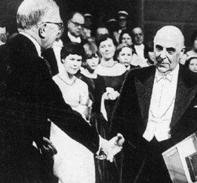 Επέτειος σαν σήμερα του νόμπελ: 54 χρόνια από το 1ο ελληνικό Νόμπελ: Η ιστορική ομιλία του Σεφέρη - Μοναδικά ντοκουμέντα  - Κυρίως Φωτογραφία - Gallery - Video