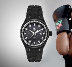 """Αυτό το """"μαύρο θαύμα"""" είναι το ρολόι που έφτιαξε η Tag Heuer ειδικά για την Bella Hadid - Με διαμάντια και στυλ! (ΦΩΤΟ) - Κυρίως Φωτογραφία - Gallery - Video"""