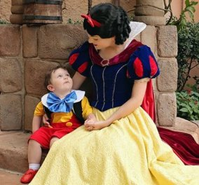 Smile βίντεο of the day: 2χρονος μπόμπιρας με αυτισμό είδε την Χιονάτη & την ερωτεύτηκε! - Κυρίως Φωτογραφία - Gallery - Video