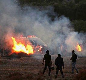Η απάντηση των Παλαιστινίων: Ρουκέτα που εκτοξεύτηκε από τη Γάζα έπληξε την ισραηλινή πόλη Σντερότ  - Κυρίως Φωτογραφία - Gallery - Video