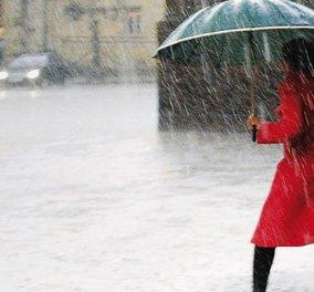 Χειμωνιάτικο το σκηνικό του καιρού σήμερα- Βροχές -πτώση της θερμοκρασίας και χιόνια στα ορεινά - Κυρίως Φωτογραφία - Gallery - Video