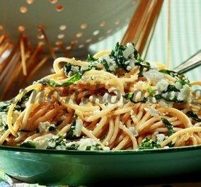 «Οι καλύτερες συνταγές με σπαγγέτι» ένα μεγάλο γευστικό αφιέρωμα από την αγαπημένη μας Ντίνα Νικολάου  - Κυρίως Φωτογραφία - Gallery - Video