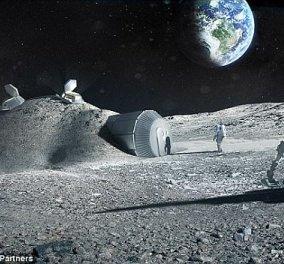 NASA: Βρέθηκε λάβα στο φεγγάρι - Ελπίδες για ύπαρξη νερού - ΒΙΝΤΕΟ - Κυρίως Φωτογραφία - Gallery - Video