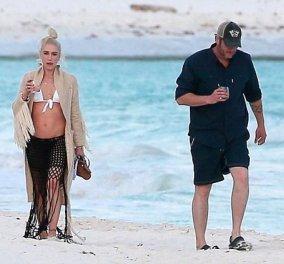 Ο έρωτας κι ο βήχας δεν κρύβονται! Η Γκουέν Στεφάνι και ο Μπλέικ Σέλτον χαίρονται την αγάπη τους σε παραλία του Μεξικό (ΦΩΤΟ) - Κυρίως Φωτογραφία - Gallery - Video