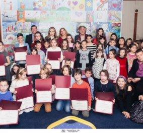 Σε κλίμα χαράς η απονομή βραβείων στους νικητές  του μαθητικού διαγωνισμού  ζωγραφικής 2017 (ΦΩΤΟ) - Κυρίως Φωτογραφία - Gallery - Video