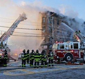 Πύρινη κόλαση σε πολυκατοικία στο Μπρονξ: 12 οι τραυματίες- Ο ένα σε σοβαρή κατάσταση (ΦΩΤΟ-ΒΙΝΤΕΟ)   - Κυρίως Φωτογραφία - Gallery - Video