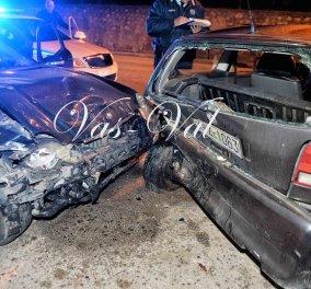 Μεθυσμένος οδηγός πήρε σβάρνα και κατέστρεψε 6 αυτοκίνητα στην Κόρινθο- Συνελήφθη μπροστά στην κάμερα   - Κυρίως Φωτογραφία - Gallery - Video