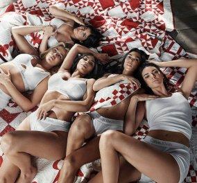 Επιτέλους όλες οι αδελφές Καρντάσιαν μαζί & προπάντων κομψές- H νέα καμπάνια Calvin Klein σκίζει (ΦΩΤΟ) - Κυρίως Φωτογραφία - Gallery - Video