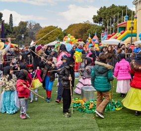 Οι μικροί μασκαράδες ξεφαντώνουν στην αποκριάτικη Αθήνα - Δείτε όλες τις εκδηλώσεις για τα παιδιά  - Κυρίως Φωτογραφία - Gallery - Video