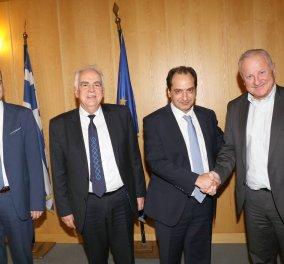 Κοινή Δράση του Υπουργείου Υποδομών και Μεταφορών και της Εταιρείας Ελληνικά Πετρέλαια Α.Ε για τη συγκοινωνιακή ανάταξη της Δυτικής Αττικής - Κυρίως Φωτογραφία - Gallery - Video