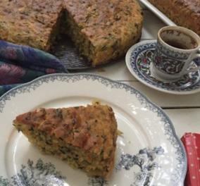 Η φανταστική Μαρία Εκμεκτσίογλου μας προτείνει: Πεντανόστιμο αλμυρό κέικ  - Κυρίως Φωτογραφία - Gallery - Video