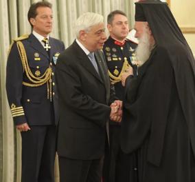 Μήνυμα Ιερώνυμου για το Σκοπιανό! Συνάντηση του Αρχιεπισκόπου με τον Πρόεδρο της Δημοκρατίας - Κυρίως Φωτογραφία - Gallery - Video