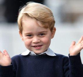 Βασιλικό... γεύμα: Δείτε τι τρώει ο μικρός πρίγκιπας Τζορτζ στο σχολείο  - Κυρίως Φωτογραφία - Gallery - Video