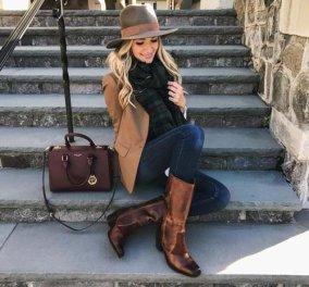 Εκπληκτικοί συνδυασμοί για να φορέσετε μπότες ιππασίας & να είστε πάντα κομψή  - Κυρίως Φωτογραφία - Gallery - Video
