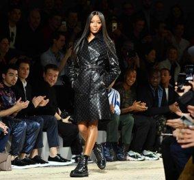 Η τελειότερη Louis Vuitton εμφάνιση από την κορυφή ως τα νύχια - Ναόμι Κάμπελ forever  - Κυρίως Φωτογραφία - Gallery - Video