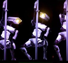Βίντεο: Βρετανός κατασκευαστής δημιούργησε... ρομπότ χορευτή του pole dancing  - Κυρίως Φωτογραφία - Gallery - Video