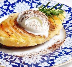 """Βίντεο: Μας """"τρέλανε"""" ο Άκης με μια υπέροχη μηλόπιτα με πατισερί- Απλά δεν υπάρχει!  - Κυρίως Φωτογραφία - Gallery - Video"""
