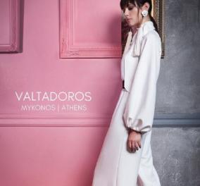 Η Ραμόνα Βλαντή πρωταγωνίστρια του Πάρι Βαλταδώρου με θαυμάσια ροζ και κρεμ σύνολα (ΦΩΤΟ)  - Κυρίως Φωτογραφία - Gallery - Video