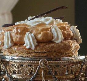 Όταν ο άρχοντας των γλυκών έχει κέφια... Μοναδικό γαλλικό Σεντ Ονορέ από τον Στέλιο Παρλιάρο! - Κυρίως Φωτογραφία - Gallery - Video