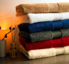 Σπύρος Σούλης: Απίστευτα μυρωδάτες πετσέτες με αυτά τα Tips - Κυρίως Φωτογραφία - Gallery - Video