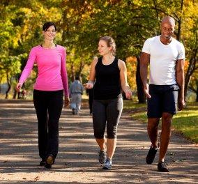 Να τι θα γίνει αν περπατάτε για ένα μήνα πριν από κάθε γεύμα - Κυρίως Φωτογραφία - Gallery - Video