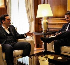Κυριάκος Μητσοτάκης προς Αλέξη Τσίπρα: Κάνει εθνικές υποχωρήσεις & πιστεύει ότι θα κρυφτεί στη σκανδαλολογία (ΒΙΝΤΕΟ)   - Κυρίως Φωτογραφία - Gallery - Video