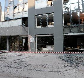Βίντεο ντοκουμέντο από έκρηξη σε κατάστημα επίπλων στο Μαρούσι - Κυρίως Φωτογραφία - Gallery - Video