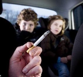Πρόστιμο 1.500 ευρώ σε όσους καπνίζουν με παιδιά στο αυτοκίνητο - Κυρίως Φωτογραφία - Gallery - Video