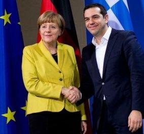 Tα είπαν στο Τηλέφωνο Τσίπρας - Μέρκελ για Σκόπια και Τουρκία - Παρασκευή το ραντεβού τους   - Κυρίως Φωτογραφία - Gallery - Video