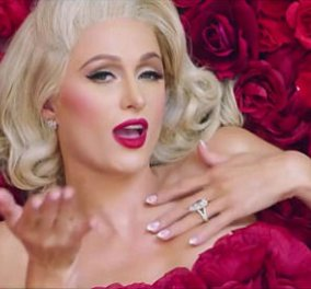 Μόνο η Paris Hilton θα μπορούσε να γιορτάσει έτσι τον Άγιο Βαλεντίνο... γυμνή με κόκκινα τριαντάφυλλα (ΦΩΤΟ)  - Κυρίως Φωτογραφία - Gallery - Video
