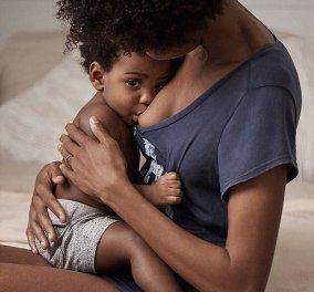 Η μητέρα που έγινε viral: Εταιρία ρούχων δημοσίευσε φωτογραφία που θηλάζει και όλοι την υποστήριξαν!  - Κυρίως Φωτογραφία - Gallery - Video