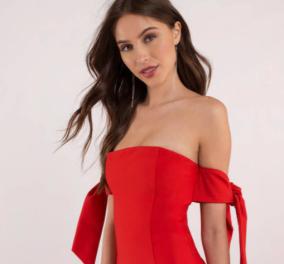 20 κόκκινα φουστάνια: 20 θαυμάσιες ιδέες για να ντυθείτε όπως ταιριάζει στην βράδια των ερωτευμένων!     - Κυρίως Φωτογραφία - Gallery - Video