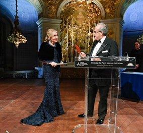 Τιμητική βράβευση για την Μαριάννα Β. Βαρδινογιάννη & την ΕΛΠΙΔΑ στο Παρίσι (ΦΩΤΟ) - Κυρίως Φωτογραφία - Gallery - Video