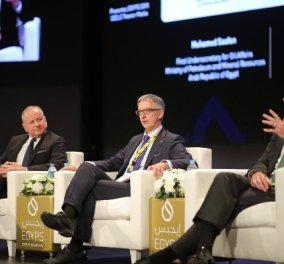 """Ομιλία CEO της ΕΛΠΕ κ. Γρηγόρη Στεργιούλη στο Πετρελαϊκό Συνέδριο """"EGYPS 2018"""" - Κυρίως Φωτογραφία - Gallery - Video"""