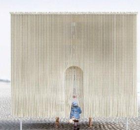 Design για βραβείο σε καταφύγια στις παγωμένες παραλίες του Καναδά - Από ξύλο, γυαλί ακόμα & γούνα (ΦΩΤΟ) - Κυρίως Φωτογραφία - Gallery - Video