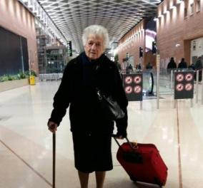 Η 93χρονη Ίρμα πήρε την βαλίτσα της και φεύγει για αποστολή βοήθειας στην Κένυα!  - Κυρίως Φωτογραφία - Gallery - Video