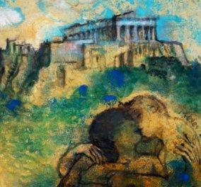 Όψεις της Ελλάδας με τον χρωστήρα διάσημων Ελλήνων ζωγράφων - Κυρίως Φωτογραφία - Gallery - Video
