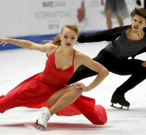 Ξεκινήστε την εβδομάδα με ένα συγκλονιστικό Despacito στον πάγο - Το χορευτικό ζευγάρι τον λιώνει! (ΒΙΝΤΕΟ) - Κυρίως Φωτογραφία - Gallery - Video