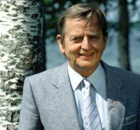 Τι μου είπε ο Ούλοφ Πάλμε ένα χρόνο πριν τη δολοφονία του - 32 χρόνια από την ανεξιχνίαστη δολοφονία του Σουηδού πρωθυπουργού - Κυρίως Φωτογραφία - Gallery - Video