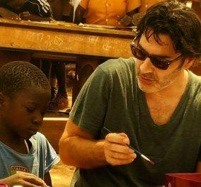 Παπακαλιάτης: Θα ανατριχιάσετε από συγκίνηση με το βίντεο του με τα φτωχά παιδάκια στην Αφρική & τα λόγια του (ΒΙΝΤΕΟ) - Κυρίως Φωτογραφία - Gallery - Video