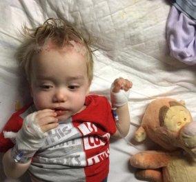 Πατέρας έσωσε ηρωικά τη ζωή του 19 μηνών γιου του από εγκεφαλικό χάρη σε μια διαφήμιση (ΦΩΤΟ) - Κυρίως Φωτογραφία - Gallery - Video