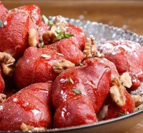 Ναι κόκκινοι λουκουμάδες! Οι red velvet του Άκη Πετρετζίκη σε βίντεο μάλιστα!  - Κυρίως Φωτογραφία - Gallery - Video