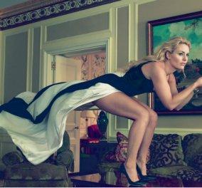 """Η Αμερικανίδα Βασίλισσα του σκι έγραψε στα ελληνικά τη λέξη """"πιστεύω"""" στο γάντι της για τους Ολυμπιακούς Αγώνες (ΦΩΤΟ) - Κυρίως Φωτογραφία - Gallery - Video"""