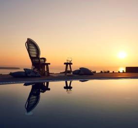 Στην Σαντορίνη με θέα ηλιοβασίλεμα: Αυτό είναι το πρώτο επίσημο Boutique Hotel στην Ελλάδα  - Κυρίως Φωτογραφία - Gallery - Video