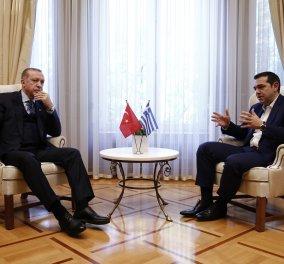 Αλέξης Τσίπρας: «Θα είναι εις βάρος της Τουρκίας αν εκμεταλλευθεί ένα σύνηθες μεθοριακό συμβάν»  - Κυρίως Φωτογραφία - Gallery - Video