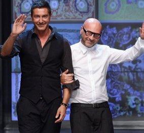 Eίναι ωραίοι τρελοί! Οι ίδιοι οι Domenico Dolce & Stefano Gabanna διαφημίζουν τα φανταστικά νέα γυαλιά ηλίου τους - Κυρίως Φωτογραφία - Gallery - Video