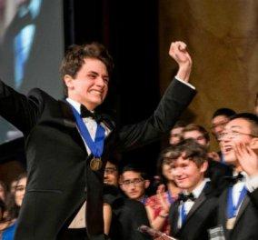 Ο 18χρονος μαθητής και η εφεύρεση του: Βραβείο 250.000 δολαρίων και οικονομία πολλών δις (ΦΩΤΟ) - Κυρίως Φωτογραφία - Gallery - Video