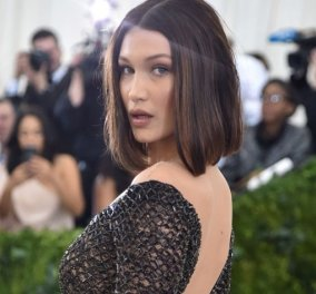 Bella Hadid: Ποζάρει τόπλες για νέα διαφημιστική καμπάνια & είναι πιο hot από ποτέ! (ΦΩΤΟ) - Κυρίως Φωτογραφία - Gallery - Video